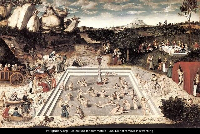The Fountain of Youth - Lucas The Elder Cranach