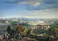 View of the Celian Hill, Rome, c.1800 - Louis Francois Cassas