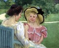 In the Garden, 1904 - Mary Cassatt