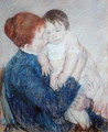 Agatha and Her Child, 1891 - Mary Cassatt