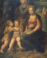 The Holy Family - Girolamo da Carpi