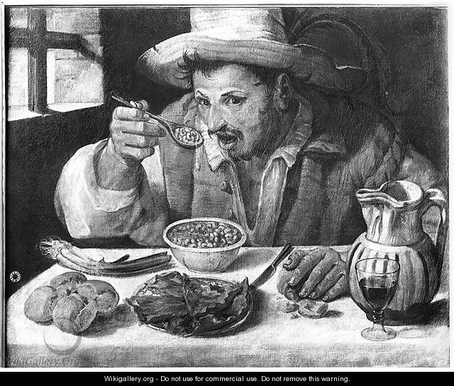 The Bean Eater, c.1583-84 - Annibale Carracci