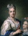 Self Portrait, 1709 - Rosalba Carriera