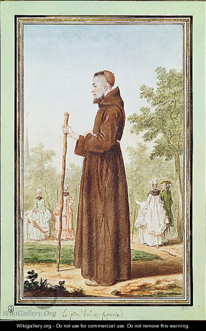 Father Hubert, 1786 - Louis (Carrogis) de Carmontelle