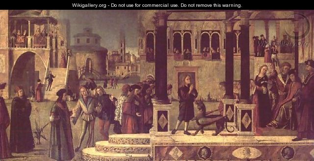 The Miracle of St. Tryphonius - Vittore Carpaccio