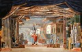 Egyptian Stage Design for Act III of