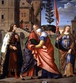 The Meeting at the Golden Gate with Saints, 1515 - Vittore Carpaccio