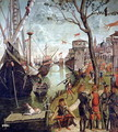 Arrival of St.Ursula during the Siege of Cologne, from the St. Ursula Cycle, 1498 - Vittore Carpaccio