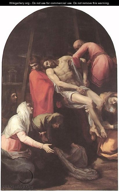 The Descent from the Cross, 1595 - Bartolome Carducci (or Carducho)