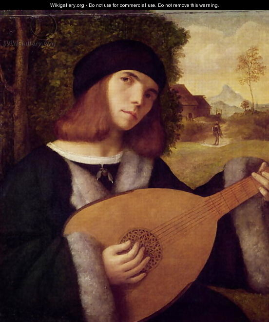 The Lute Player - Cariani