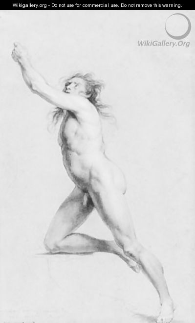 Study from Life: Nude Male - John Trumbull