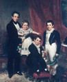 The Knapp Children - Samuel Lovett Waldo