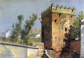 View from the Alhambra, Spain - William Stanley Haseltine