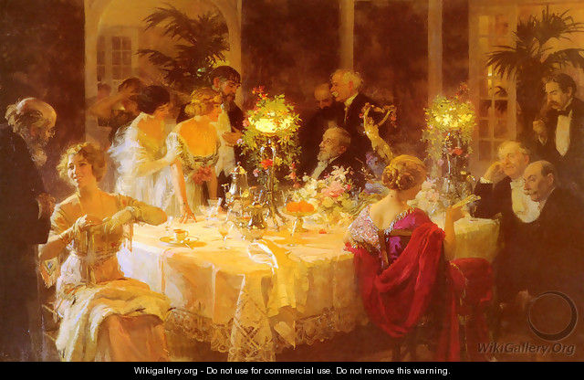 The Dinner Party - Jules Grun