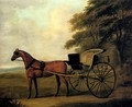 A Horse And Carriage In A Landscape - John Nost Sartorius