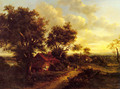 A Landscape With A Cottage Near Dorking - Patrick Nasmyth