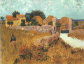 Farmhouse in Provence - Vincent Van Gogh
