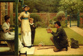 The Goldfish Seller - George Dunlop, R.A., Leslie