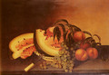 Still Life With Watermelon - Rubens Peale