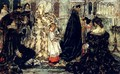A Medieval Christmas--The Procession - Albert B. Wenzell