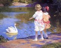 The Swan - Edward Henry Potthast