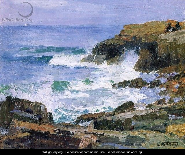 Looking out to Sea - Edward Henry Potthast