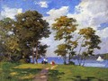 Landscape by the Shore (or The Picnic) - Edward Henry Potthast