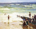 Bathers by the Shore - Edward Henry Potthast