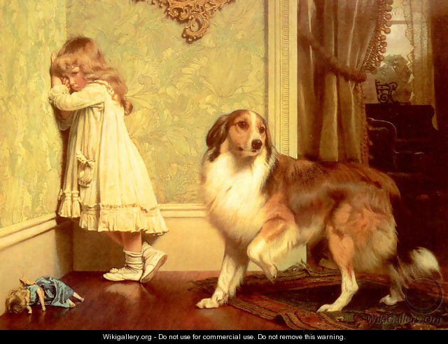 A Special Pleader - Charles Burton Barber