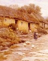 Irish Cottage - Helen Mary Elizabeth Allingham, R.W.S.