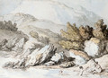Nymphs Bathing - Thomas Rowlandson