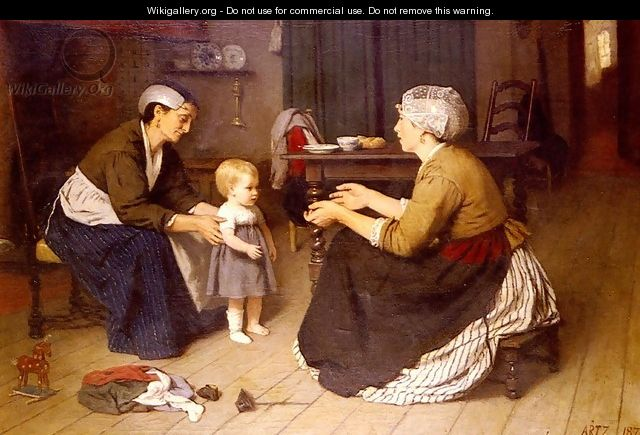 The First Step - David Adolf Constant Artz