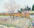 Orchard With Peach Trees In Blossom II - Vincent Van Gogh