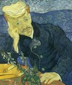 Portrait Of Doctor Gachet II - Vincent Van Gogh