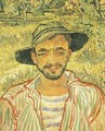 Portrait Of A Young Peasant - Vincent Van Gogh