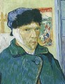 Self Portrait With Bandaged Ear - Vincent Van Gogh