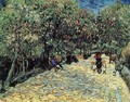 Red Chestnuts In The Public Park At Arles - Vincent Van Gogh
