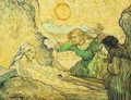 The Raising Of Lazarus (after Rembrandt) - Vincent Van Gogh