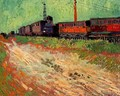 Railway Carriages - Vincent Van Gogh