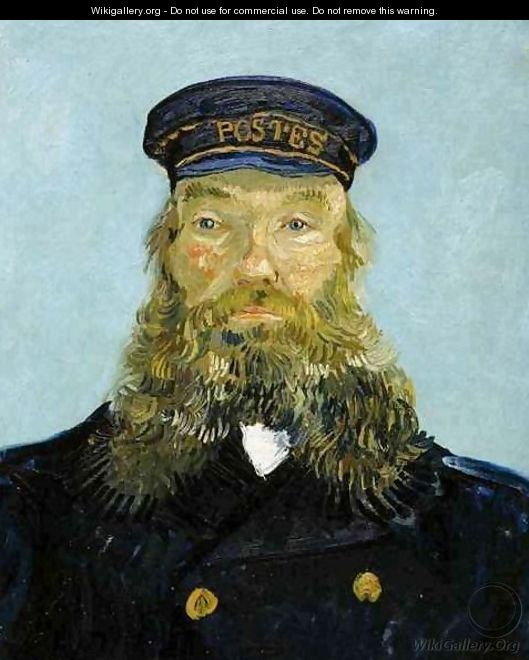 Portrait Of The Postman Joseph Roulin II - Vincent Van Gogh