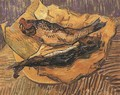 Bloaters On A Piece Of Yellow Paper - Vincent Van Gogh