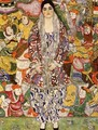 Portrait Of Friederike Maria Beer - Gustav Klimt
