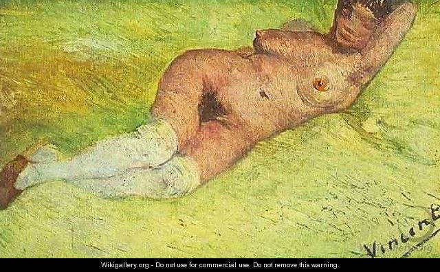 Nude Woman Reclining - Vincent Van Gogh