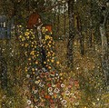Farm Garden With Crucifix - Gustav Klimt