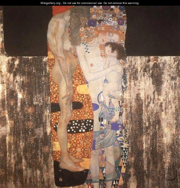 The Three Ages Of Woman - Gustav Klimt
