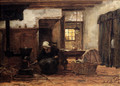 Lighting The Stove - Philippe Lodowyck Jacob Sadee