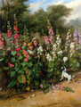 Behind the Hollyhocks - Charles Hunt