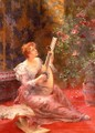 The Lute Player - Conrad Kiesel