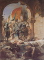 The Entry of Mahomet II into Constantinople - Benjamin Jean Joseph Constant