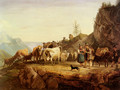 Almabtrieb (Return From The Mountain Pasture) - Friedrich Gauermann